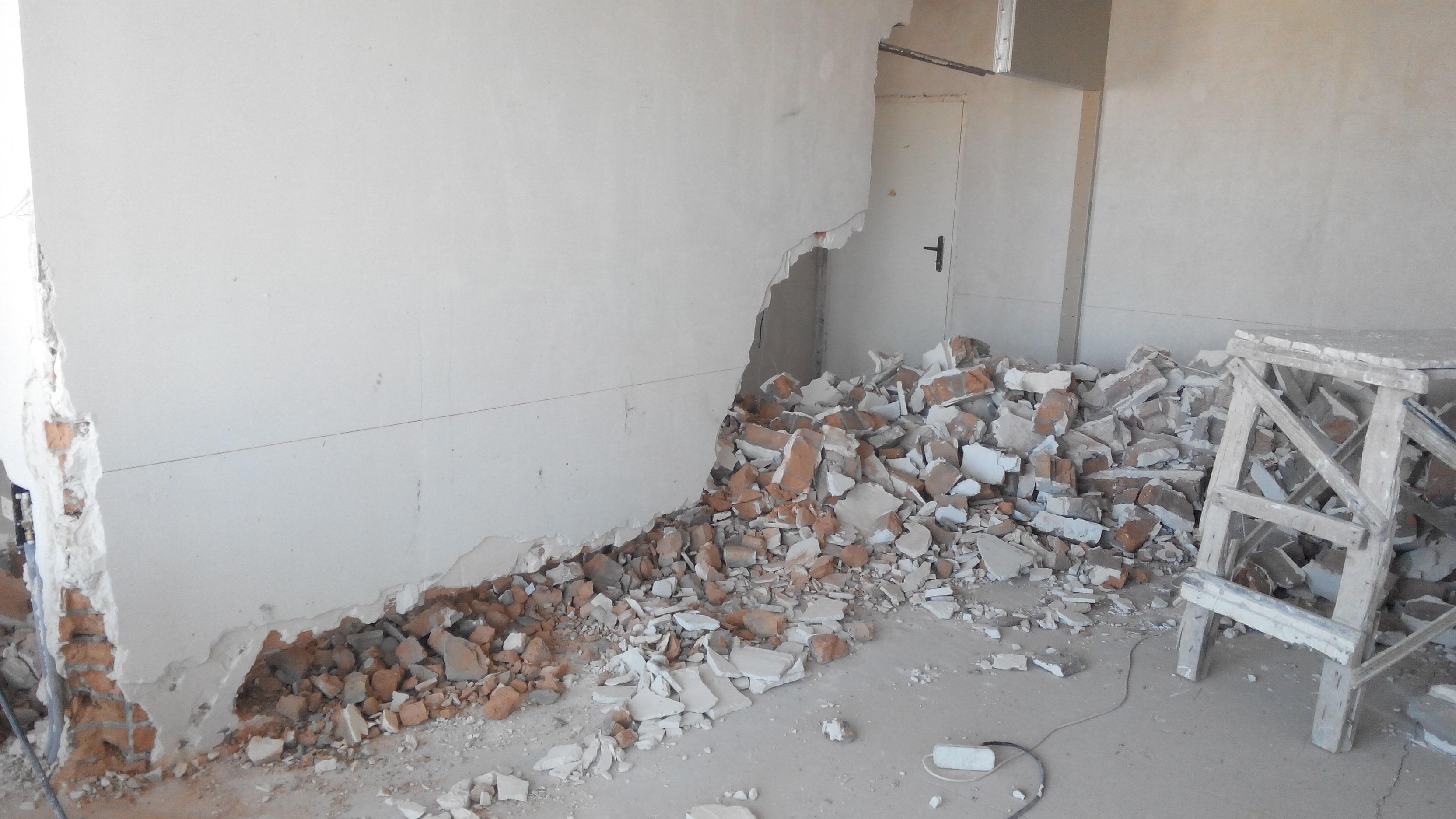 демонтаж пластика со стен цена